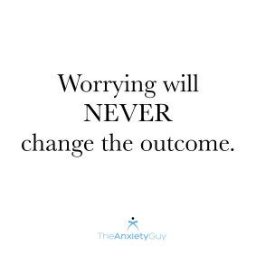 turn worry to calm
