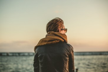 A man standing alone - reasons for anxiety