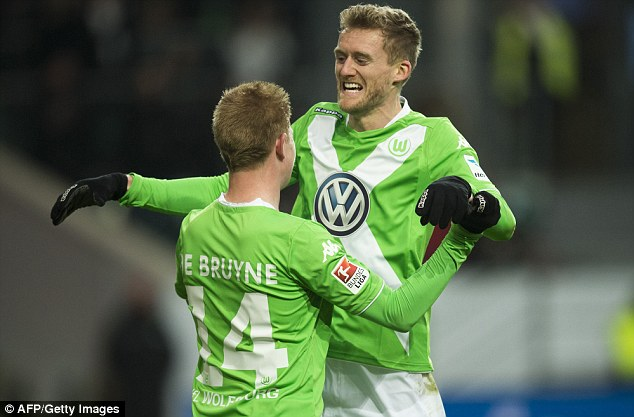 info for 51494 60807 Andre-Schurrle-Kevin-De-Bruyne-VfL-Wolfsburg - The All Out ...