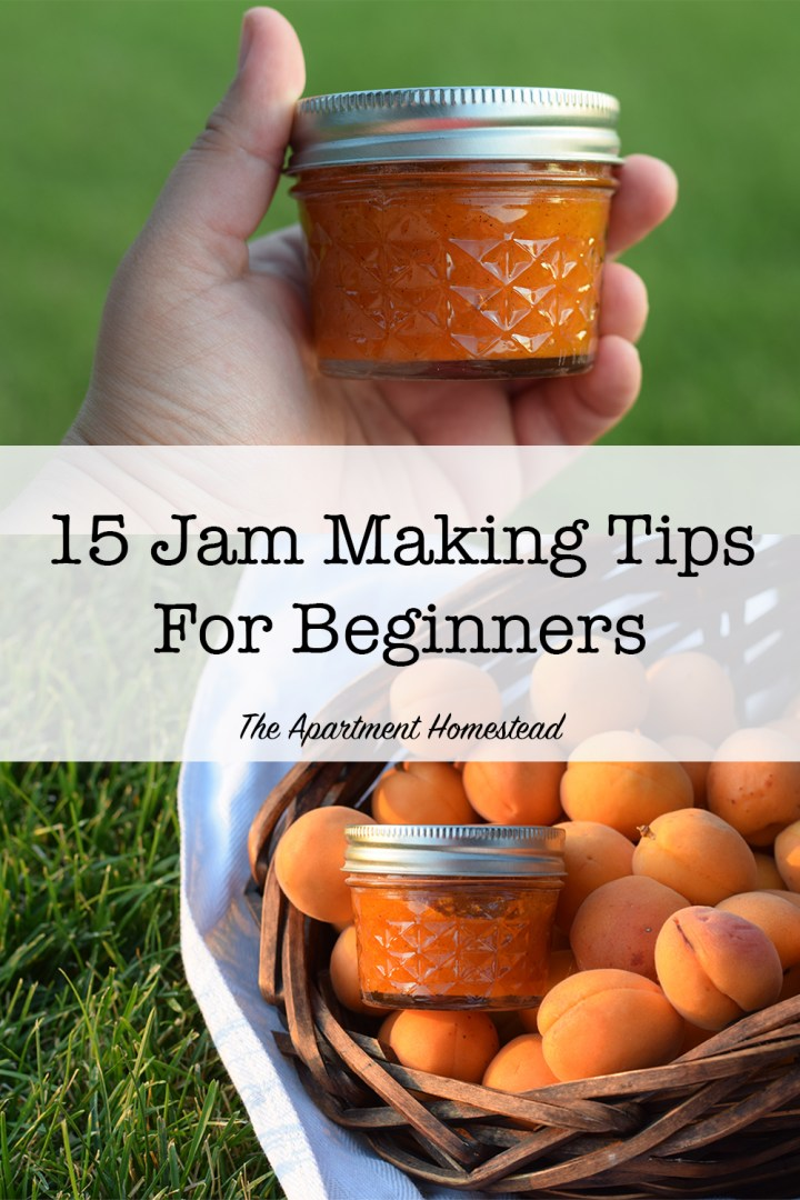 15 jam making tips for beginners