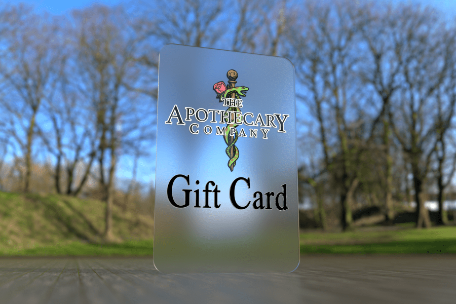 The Apothecary Company llc gift cards