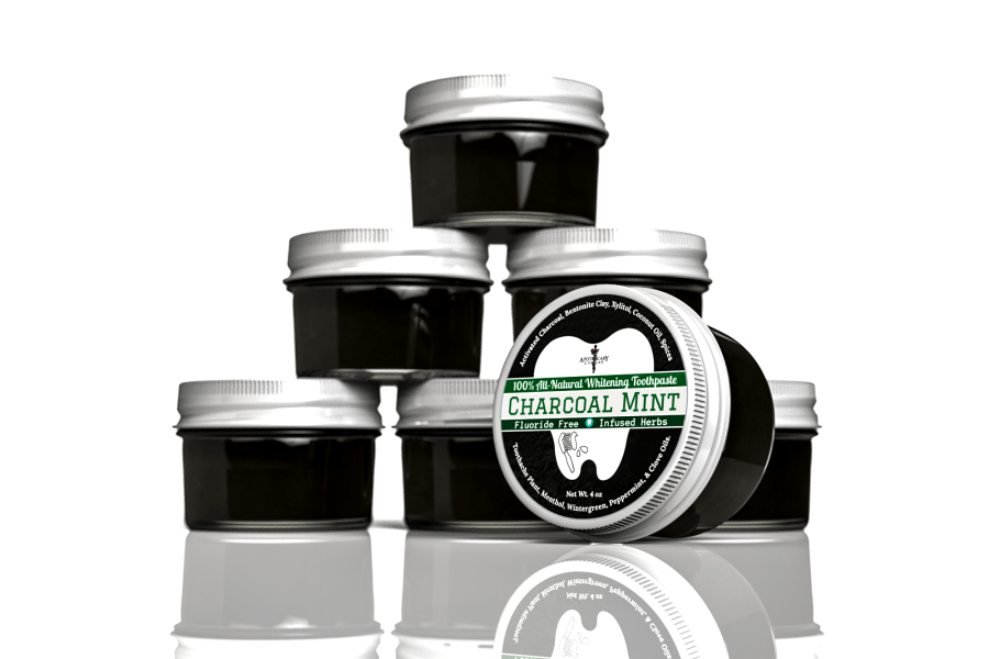 The Apothecary Company Activated Charcoal Mint Toothpaste