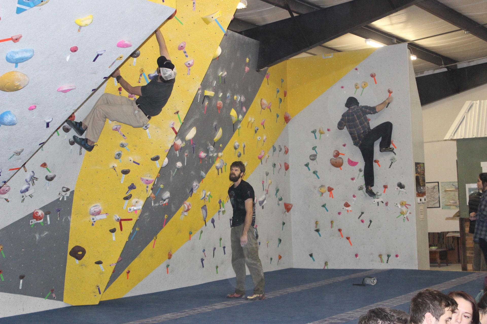 New climbing gym hosts grand opening - The Appalachian Online