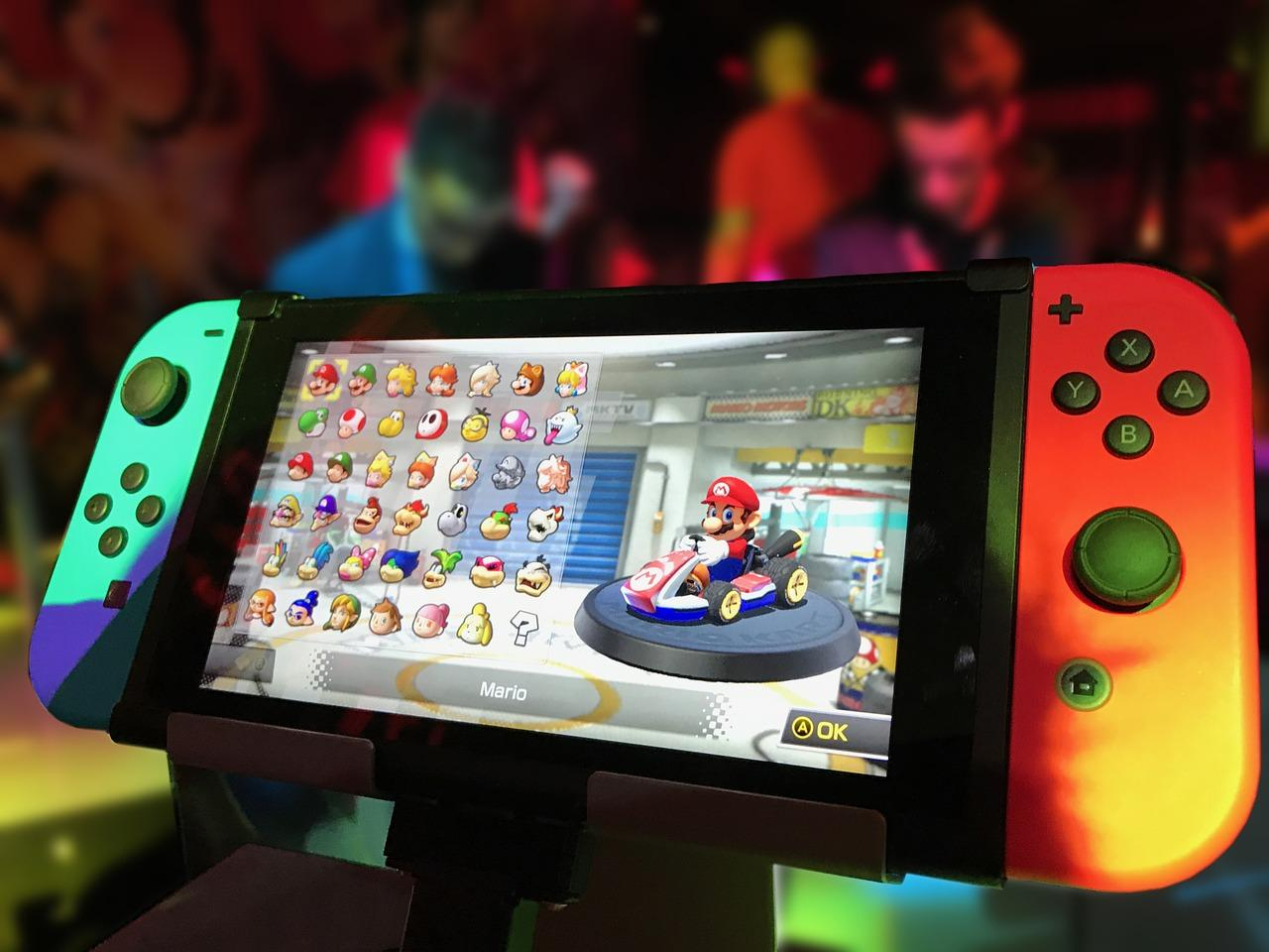 nintendo switch verre trempÈ