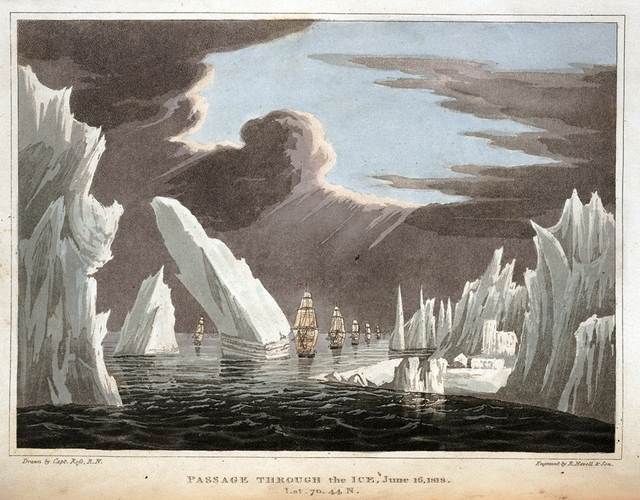 passage through the ice