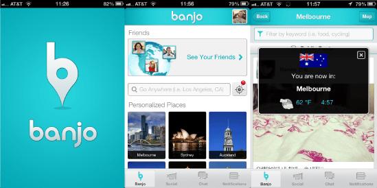 Banjo Location Mobile App
