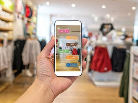 Retail Stores Through Mobile App