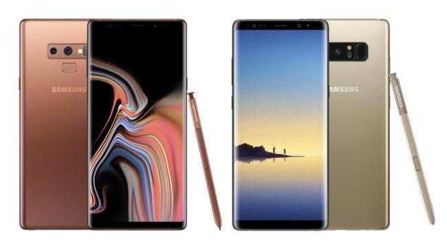 Samsung Galaxy 8 Vs Samsung Galaxy S9