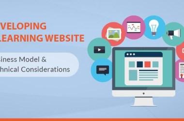 Developing eLearning Website