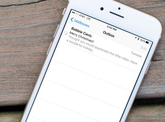 How to fix stuck outbox messages on iPhone
