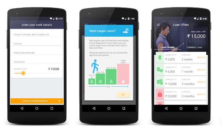 SmartCoin loan app Screenshot