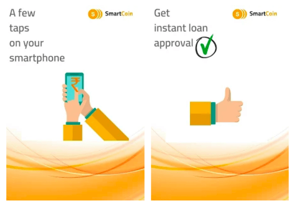 Smartcoin app for personal loan