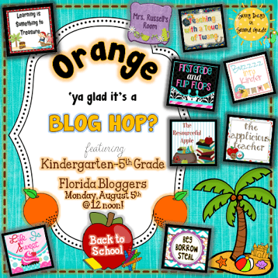 Orange you glad it's a Blog Hop?! BTS Edition!