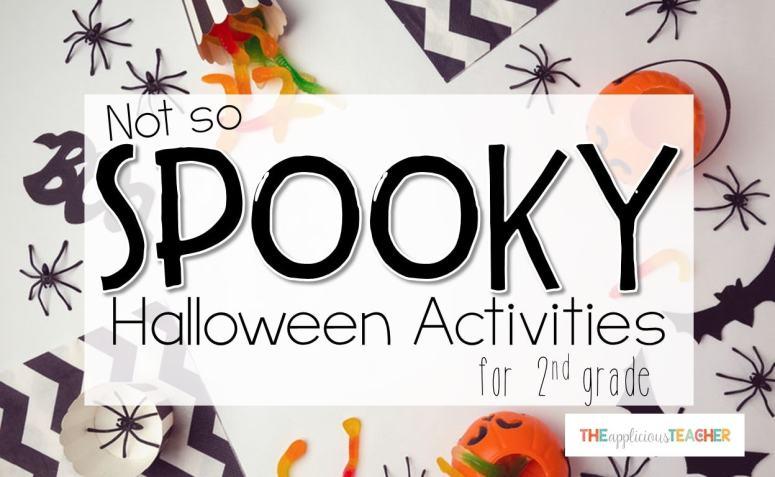 Fun Halloween Activities for second grade.