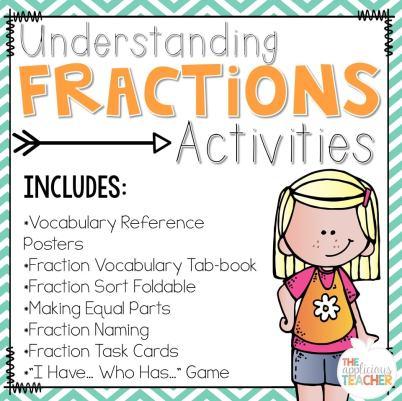 fraction activities unit
