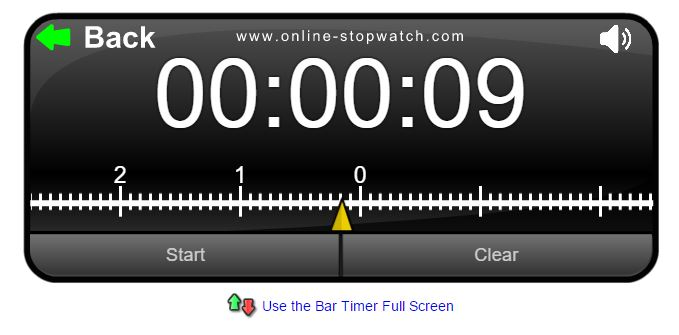 this online timer from online-stopwatch.com is a great tool for the digital classroom