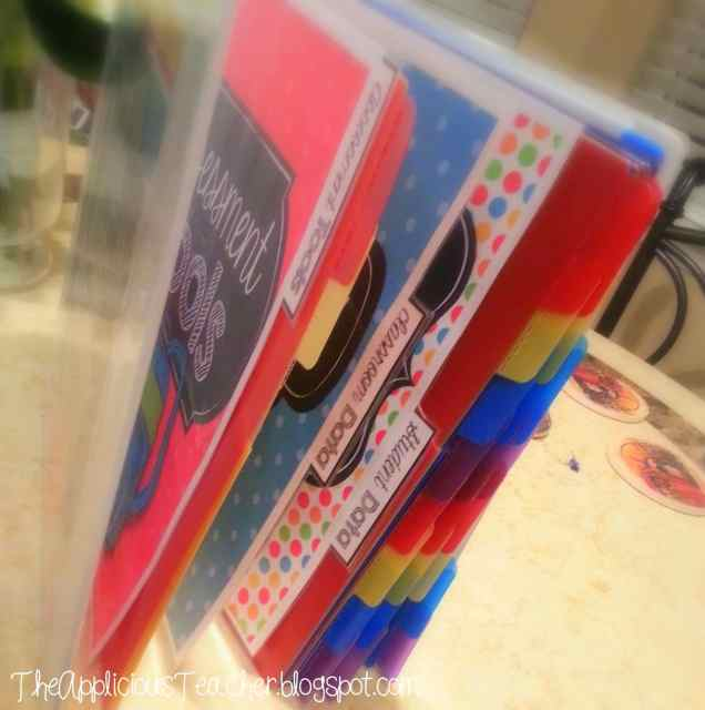 Student Data Binder- perfect for keeping all that student data all neat and organized