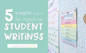 improve student writing