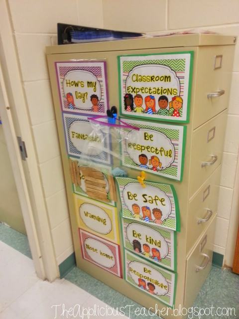 clip chart classroom expectations