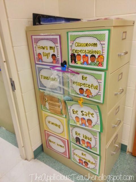 clip chart classroom expectations