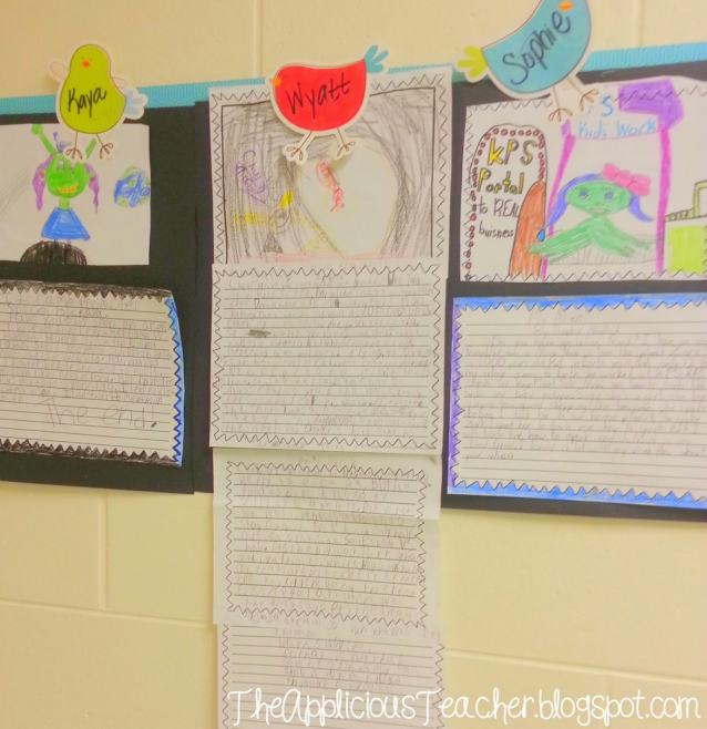 space responding to literature writing activity