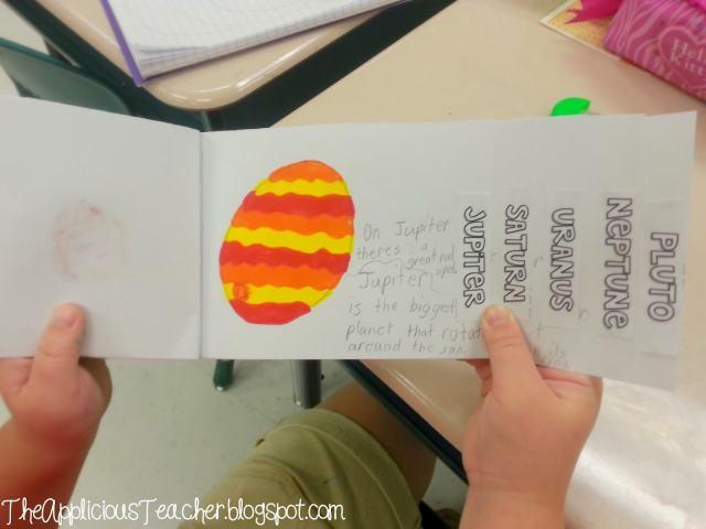 Solar System Mini step books
