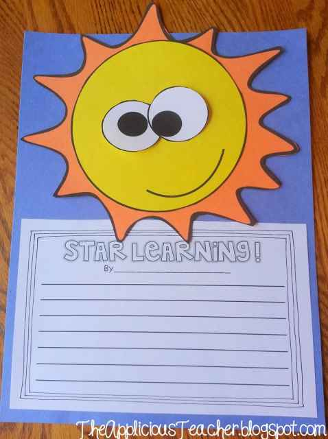 star writing craftivity