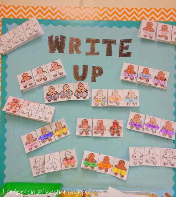 Gingerbread Man Bulletin board