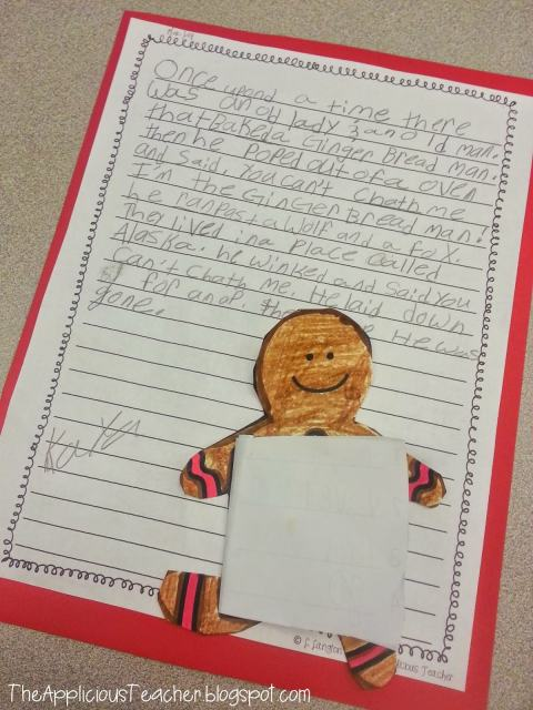 Write your own version of the gingerbread man