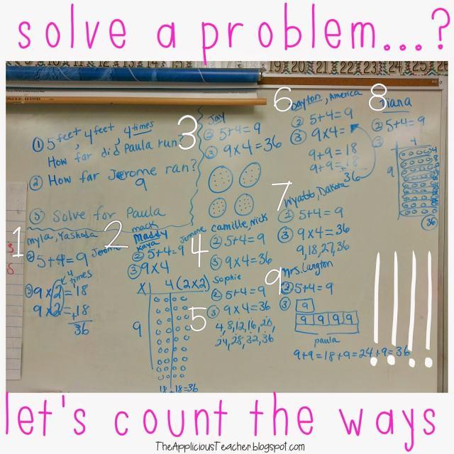 solving a problem multiple ways