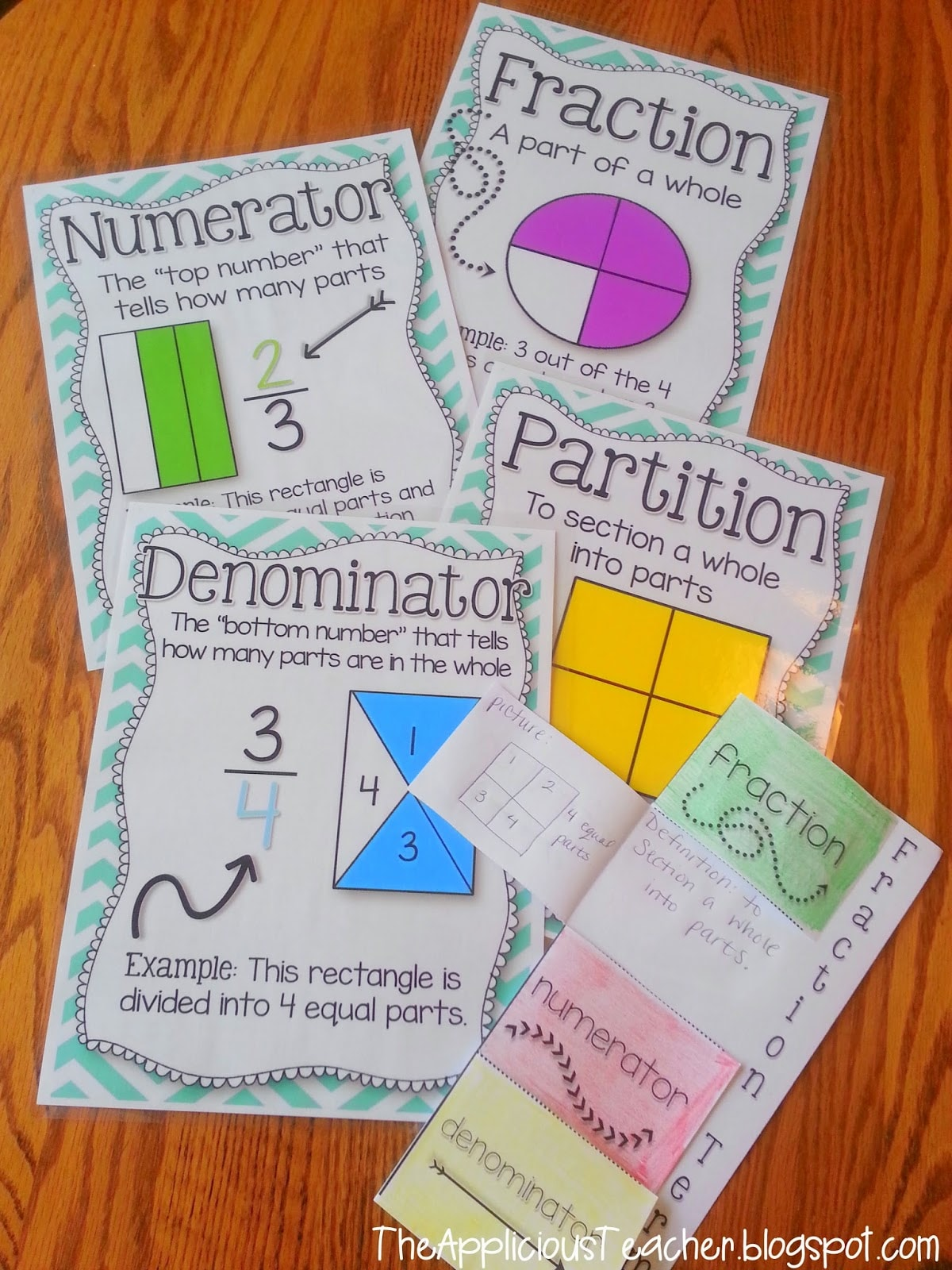Introduction To Fractions Activities And Lessons For Third