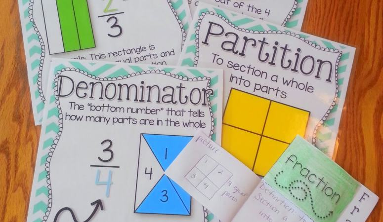 Fractions Part 2- With a FREEBIE!