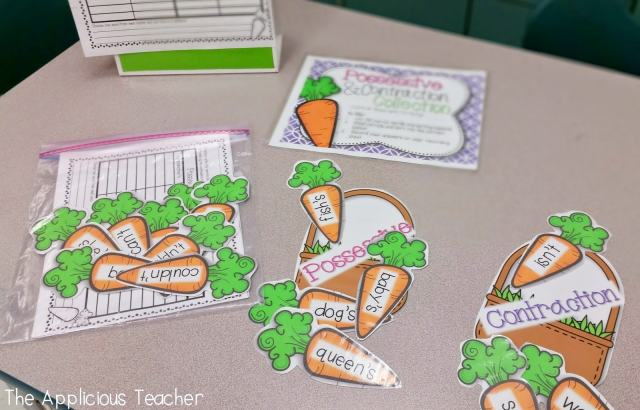 contractions and possessive centers