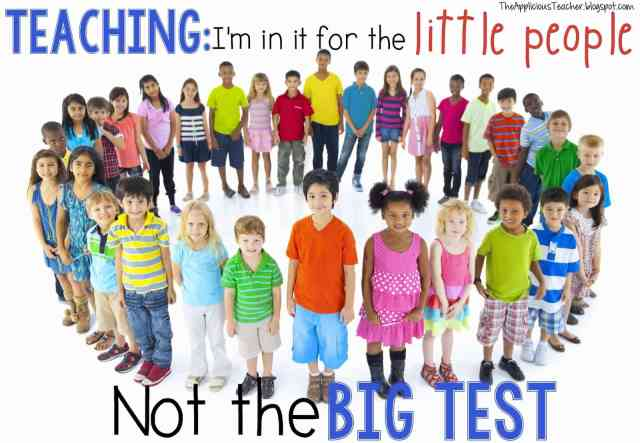 Teaching for the kids, not the test