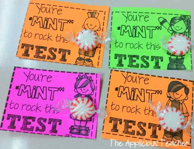 You're mint to rock this test