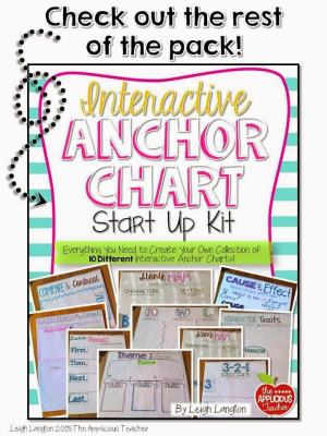 interactive anchor chart pack