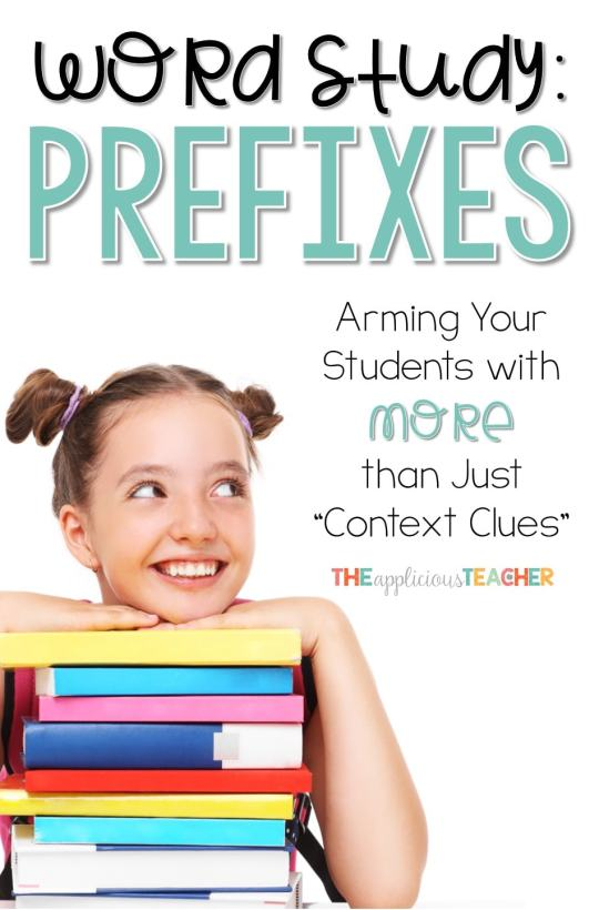 What to do when context clues are not enough? Help them with prefixes and suffixes! Love all the prefix activities in this post!