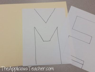 "how to make a ""Me"" poster for back to school"