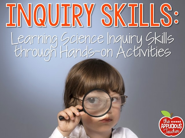 Hands on activities for Science Inquiry skills