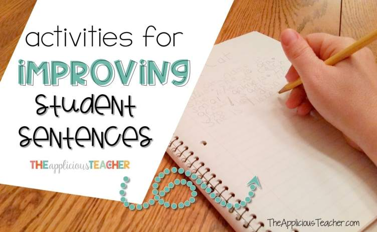 activities and ideas for improving your students' sentences and writing. Perfect for 1st and 2nd grade!