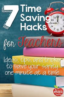 7 Time Saving Hacks for Teachers- Her last one? Genius!