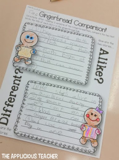 """Comparing the stories, """"Gingerbread Baby"""" and """"The Gingerbread Boy"""""""