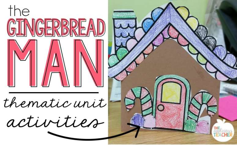Gingerbread thematic unit activities- great activity ideas for the holidays.