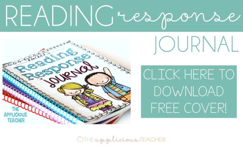 download your free copy of this reading response journal cover