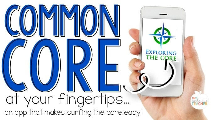 Finally an app to look over all those Common Core Math standards! Love this Common Core Math app!