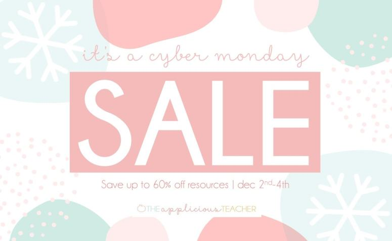 Cyber Monday TpT Sale 2019