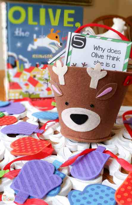 Olive the other reindeer activities