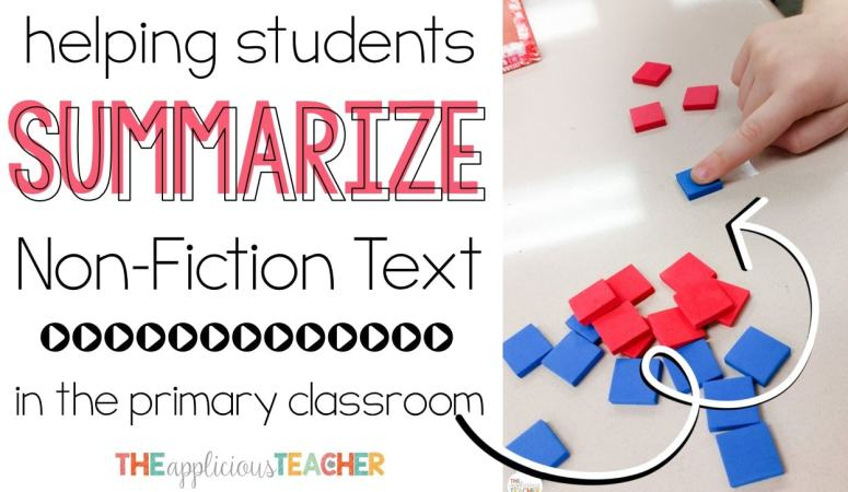 Summarizing in the Primary Classroom