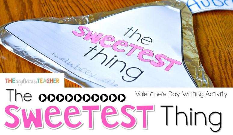 chocolate kiss writing- super cute idea for Valentines Day