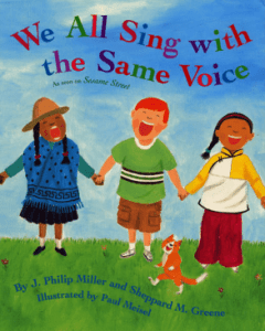 Books about Kindness We All Sing with the Same Voice